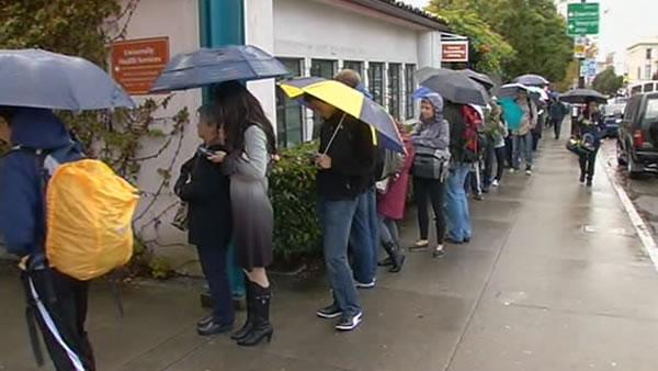 Childhood disease has Cal students lining up for vaccine