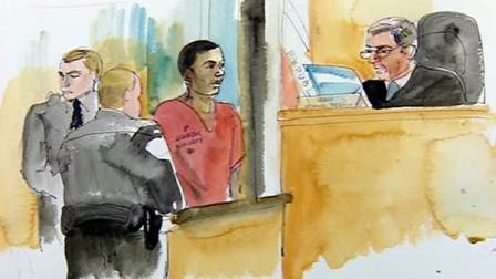 Chauncey Bailey murder trial sketch