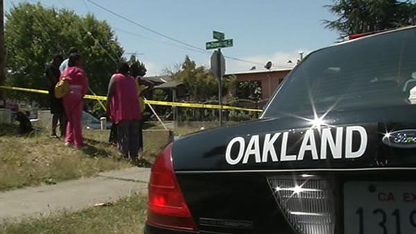 Oakland reeling after another weekend of shootings