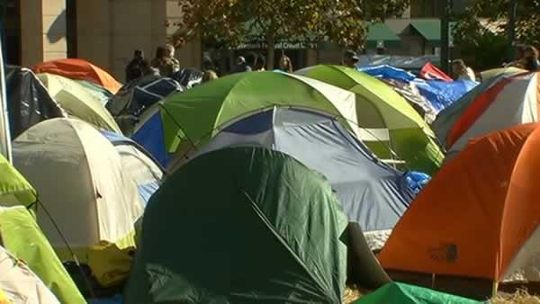 City Council debates fate of Occupy encampment