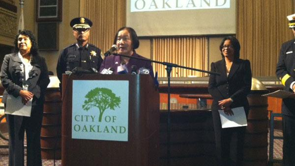 Mayor Quan names new Oakland police, fire chiefs