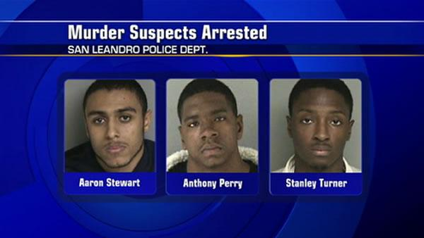 3 men arrested for October shooting in San Leandro
