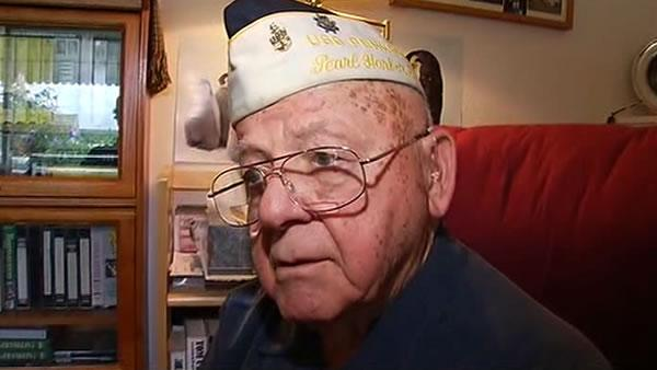Pearl Harbor survivor devastated over stolen memorabilia