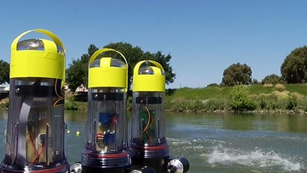 Floating robots provide insight into Delta waters