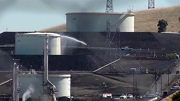 Rupture at refinery causes strong smell near Rodeo