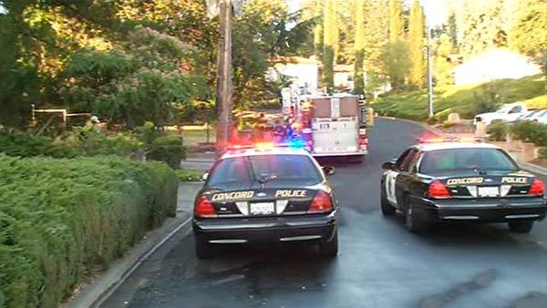 One person taken into custody after fire in Concord