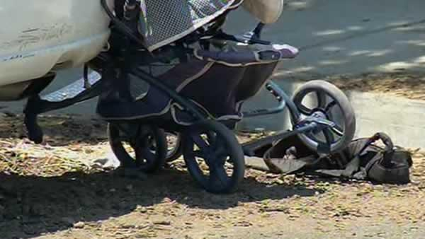 Video shows crash that injured mother, young child