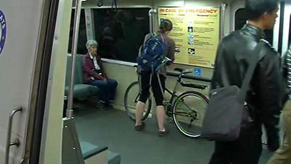 BART lifts bike ban during busy commute time