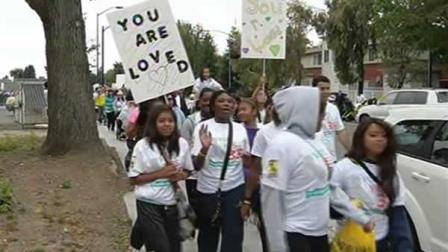 A group hit the streets of Oakland Saturday to take a stand against human trafficking, sexual exploitation.