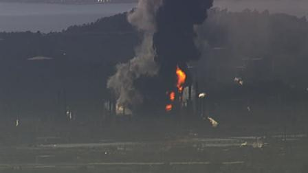 Chevron refinery fire