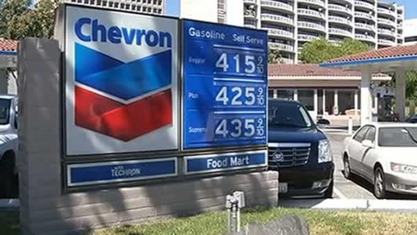 Chevron Refinery fire blamed for rising gas prices