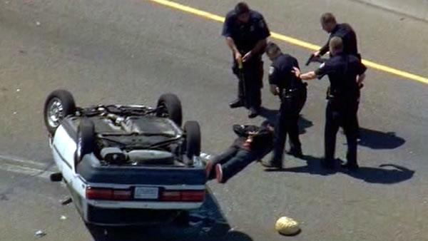 Police pursuit caused headache for I-880 drivers