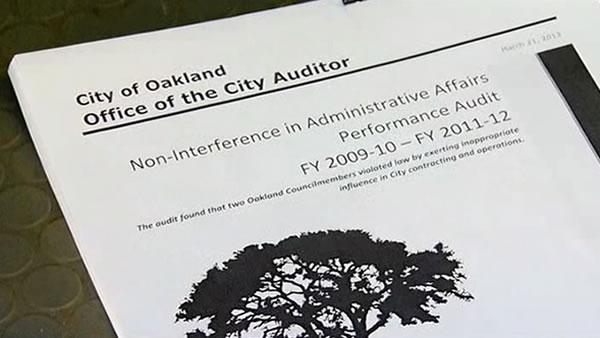 Oakland councilmembers accused of ethics violations