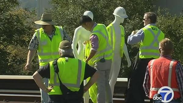NTSB reenacts crash that killed two BART workers