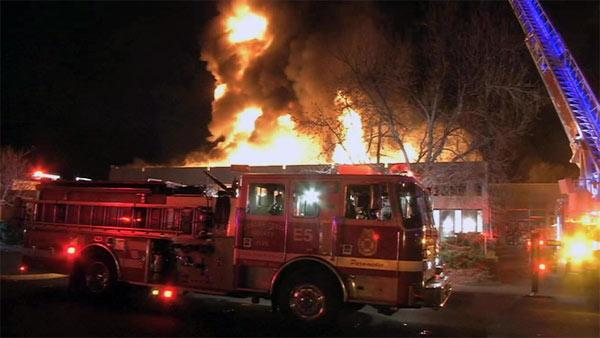 Firefighters control 4-alarm fire in Concord
