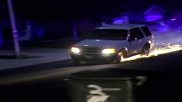 Man leads police on wild chase around Antioch