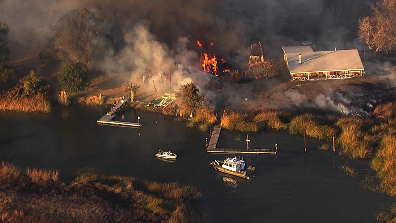 Kimball Island fire