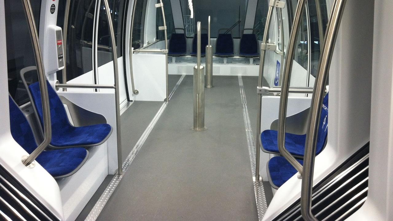 AirBART train car.
