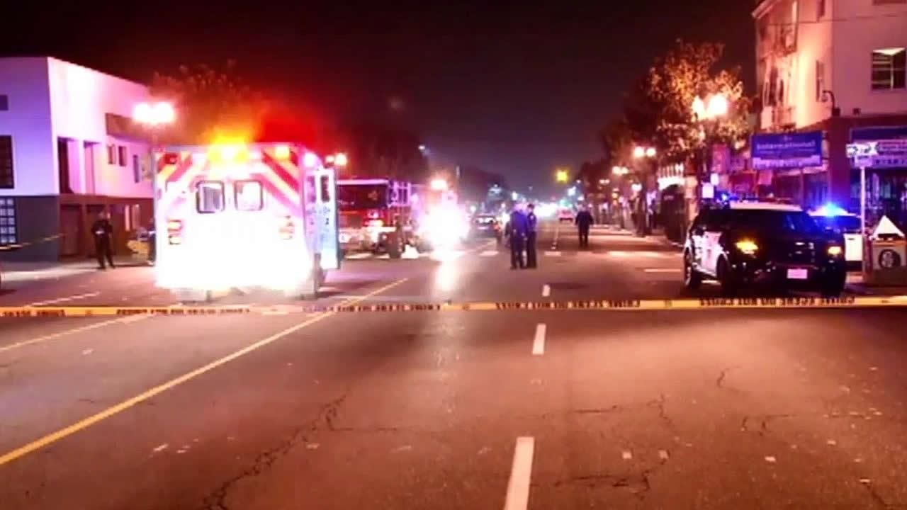 Shooting at 37th Avenue and International Boulevard in Oakland