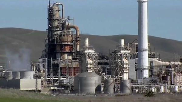 Officials investigating acid spill at Tesoro refinery