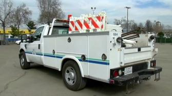 East Bay Municipal Utility District truck.