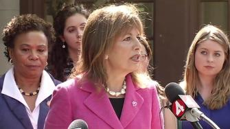 Congresswomen Jackie Speier and Barbara Lee are lending support to UC Berkeley sexual assault victims.