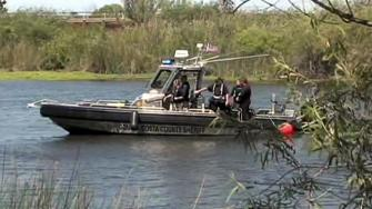 Crews search for missing fisherman after boating accident.