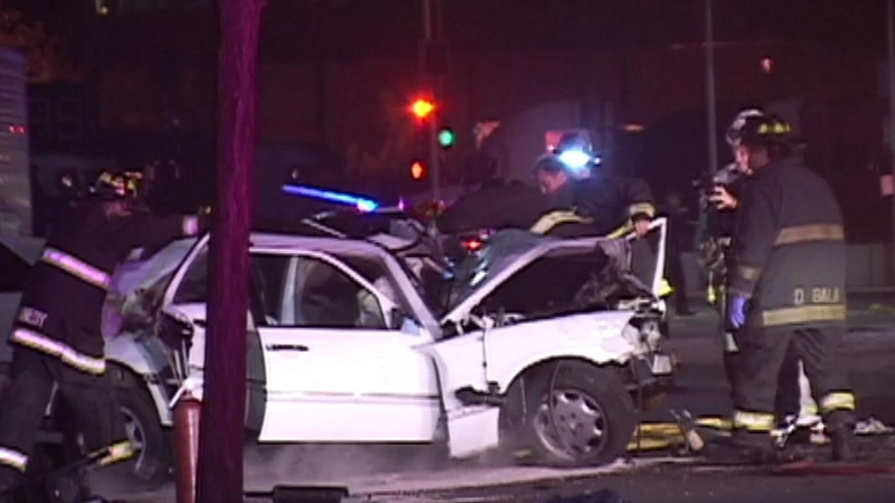 Fatal Oakland accident.