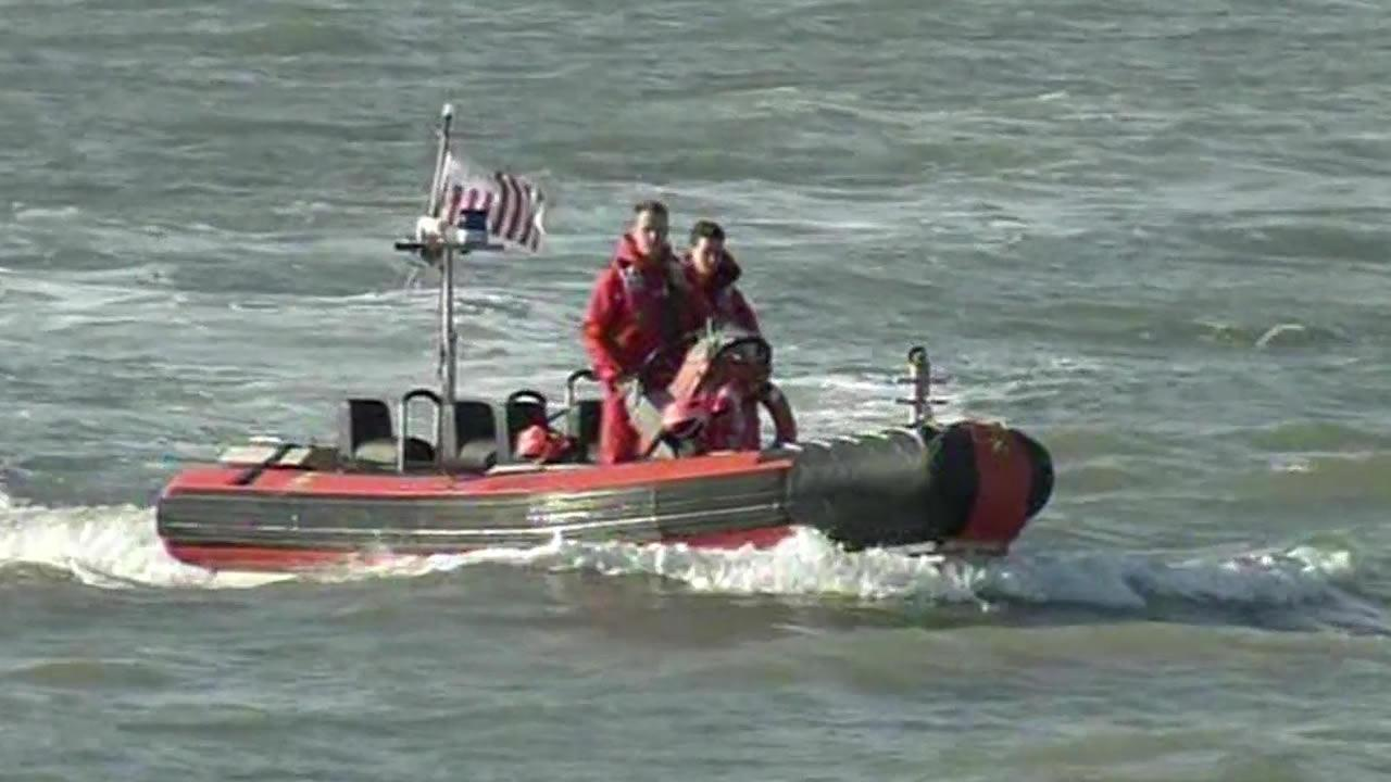 Coast Guard crews search for survivors after midair plane crash over San Pablo Bay.