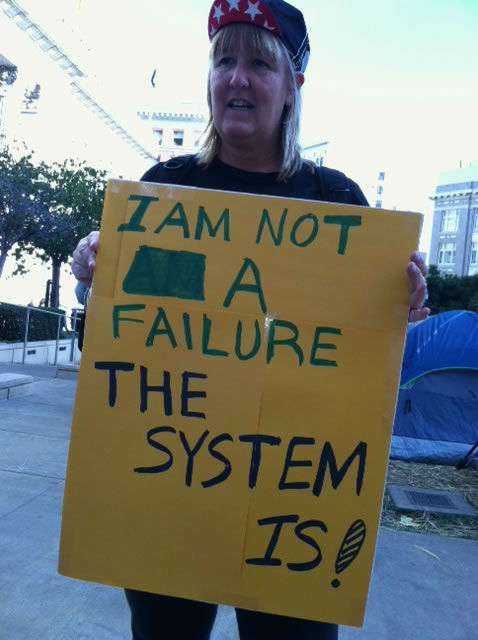Thousands of people gathered in Oakland Wednesday, Nov. 2 for a general strike supporting the Occupy Oakland movement. <span class=meta>(ABC7)</span>