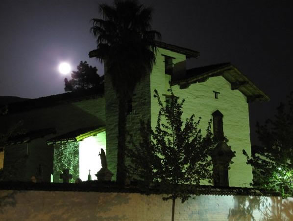 Many viewers all around the Bay Area sent in their photos of Saturday night's supermoon. This photo was taken in Mission San Jose in Fremont.  (Photo submitted by David B. via uReport)