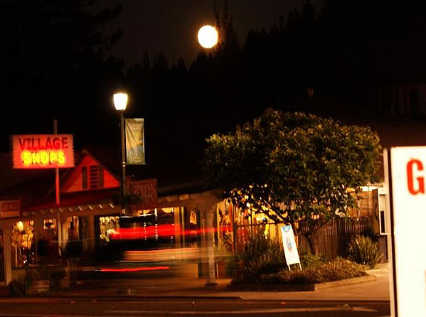 Many viewers all around the Bay Area sent in their photos of Saturday night's supermoon. This photo was taken in Guerneville. (Photo submitted by a viewer via uReport)