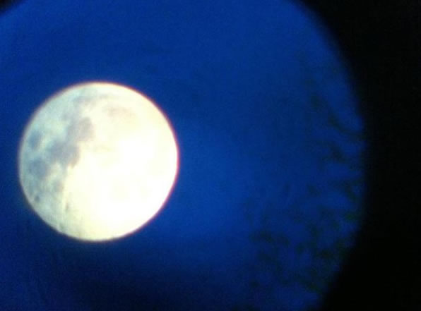 "<div class=""meta ""><span class=""caption-text "">Many viewers all around the Bay Area sent in their photos of Saturday night's supermoon. This viewer said they took this photo through their son's telescope. (Photo submitted by a viewer via uReport)</span></div>"