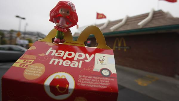 McDonald's gets around SF Happy Meal toy ban