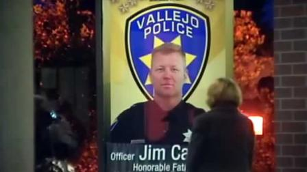 Memorial for fallen officer Jim Capoot of Vallejo