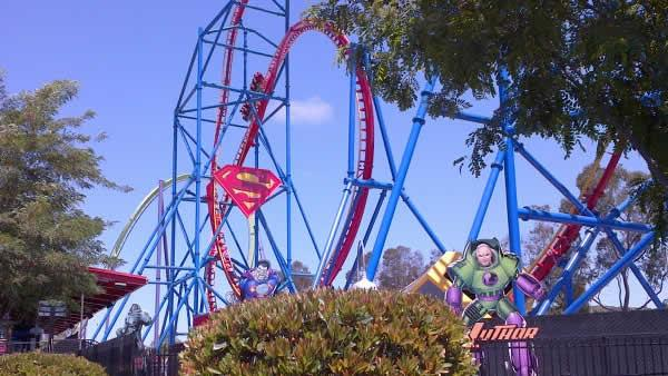 Bumpy start for Superman ride's reopening
