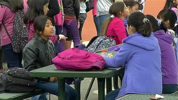 Anti-bullying program centered around lunchtime