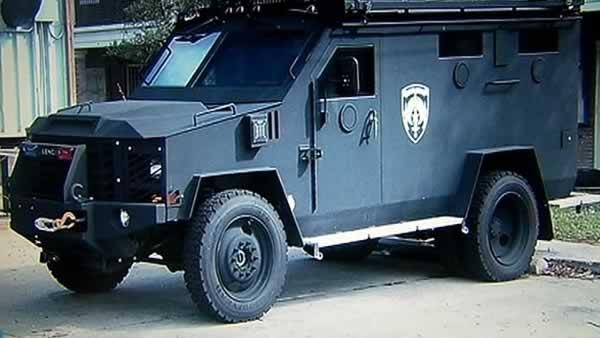 Opinions mixed on new armored vehicle in Marin Co.