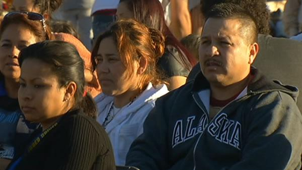 Andy Lopez's family attends community event