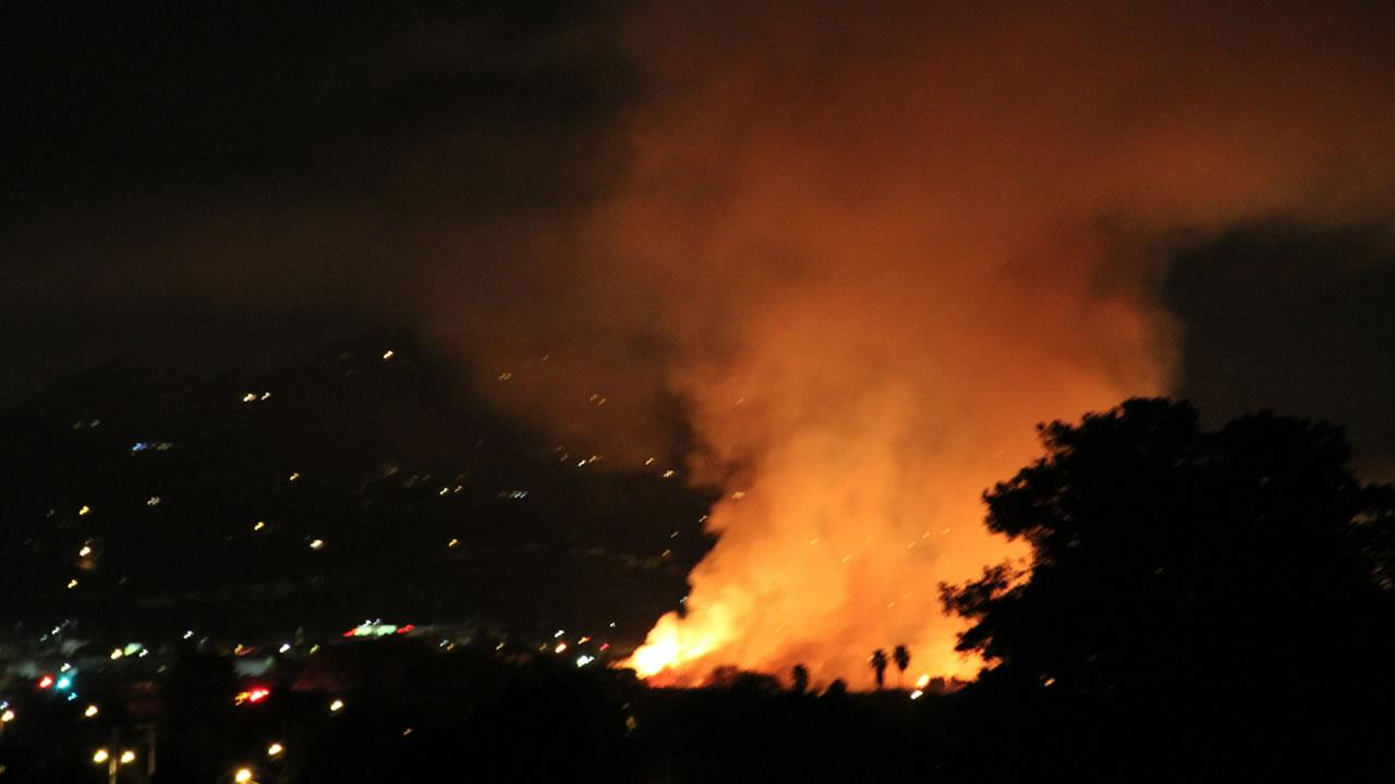 Corte Madera fire