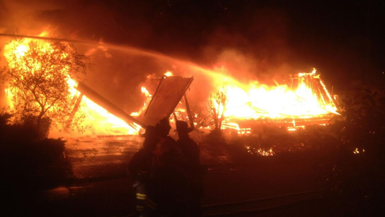Vallejo Residents Devastated By Mobile Home Park Fire
