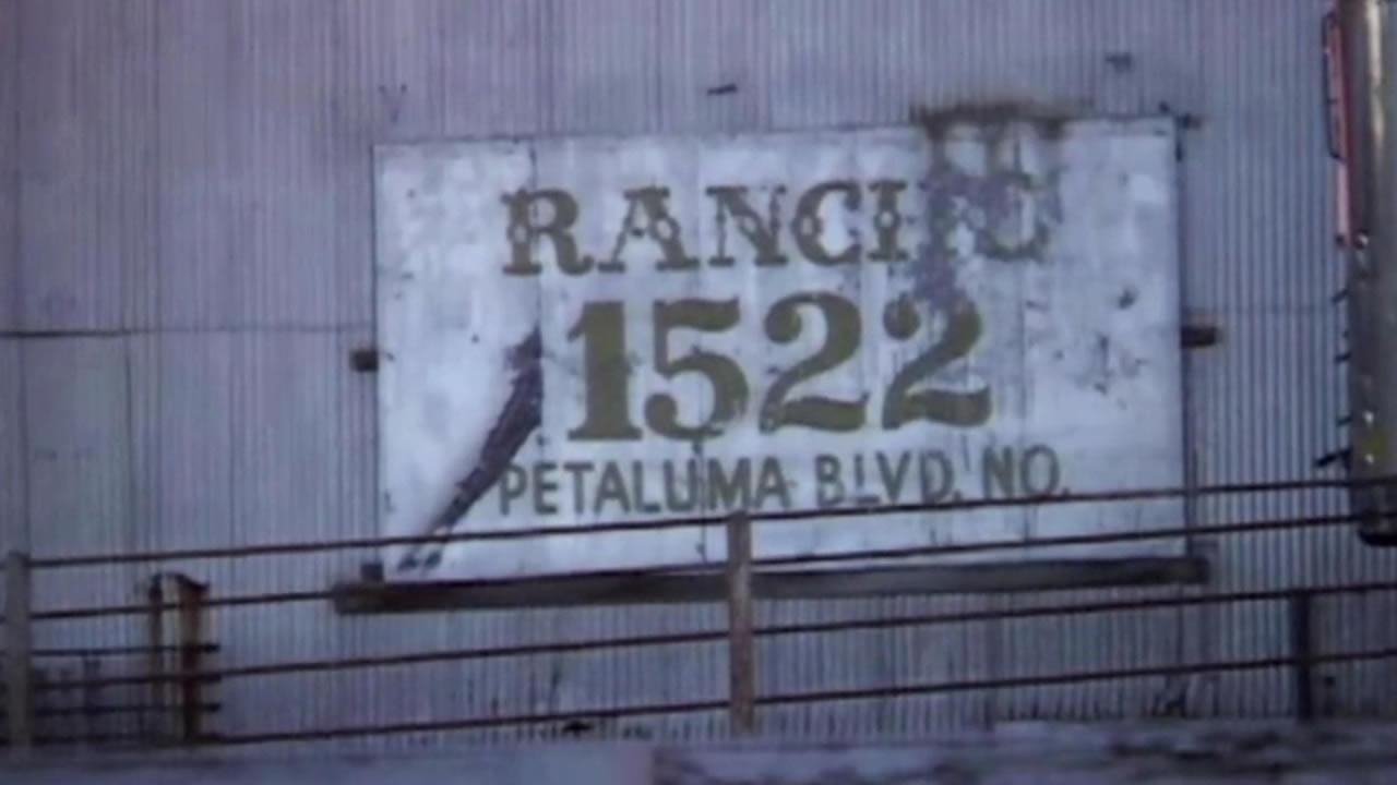 Rancho meat sign