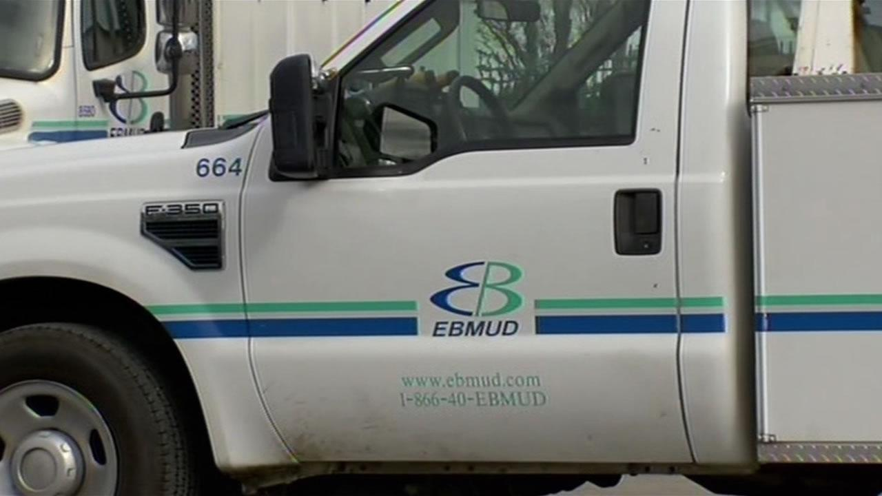 An East Bay Municipal District truck that was stolen last Thursday was found in Castro Valley on Monday morning.