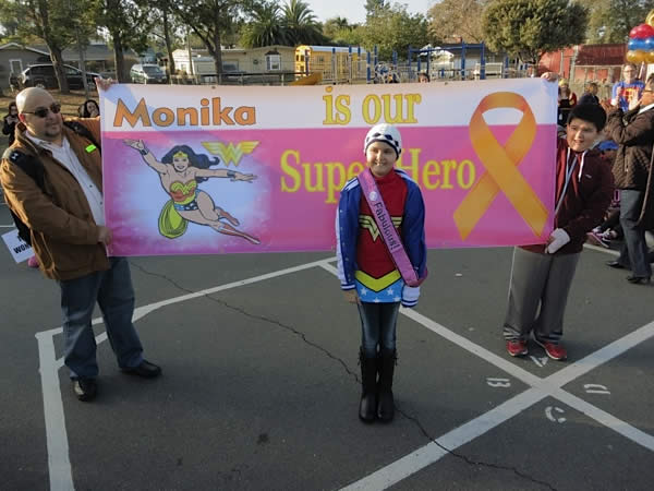 "<div class=""meta ""><span class=""caption-text "">Vallejo pulled out all the stops to help a 10-year-old cancer patient become Wonder Girl for the day. (Photos by ABC7 News reporter Wayne Freedman)</span></div>"