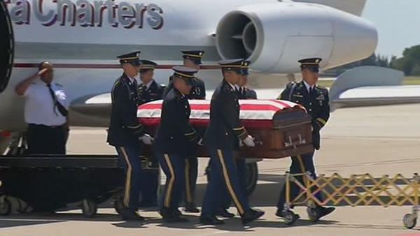 Soldier's final homecoming marred by frustration