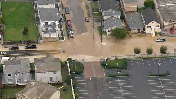 South San Francisco water main break