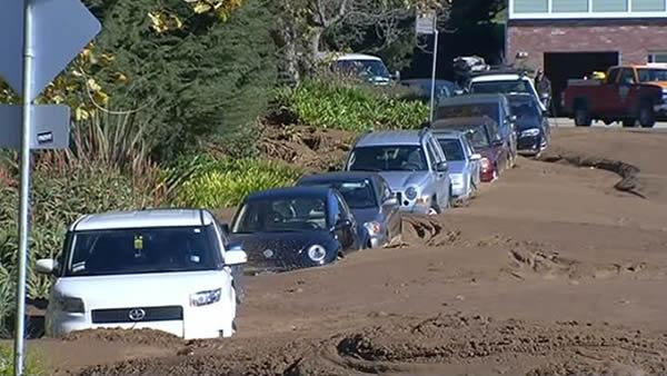 Mud in Daly City