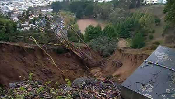 Officials monitoring neighborhood after mudslide