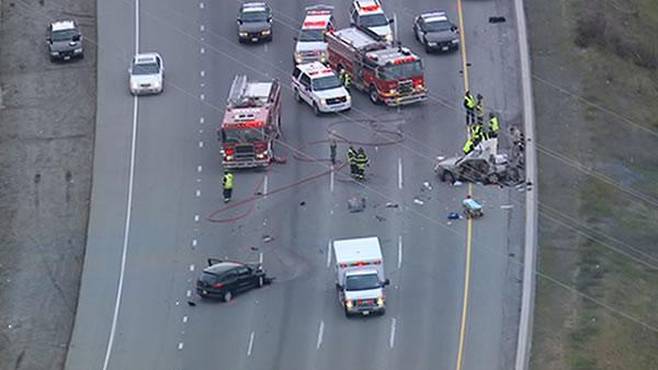 Driver to be arrested in triple-fatal crash on NB I-280