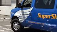 Super Shuttle inspected at SFO